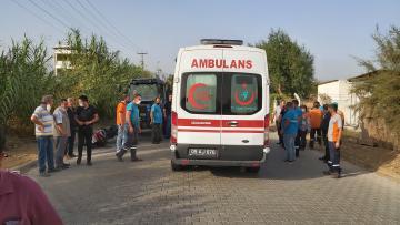 Nazilli'de Kaza; Motosiklet Sürücüsü Ağır Yaralandı