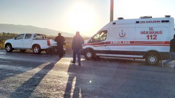 Bozdoğan Yolunda Kaza; 1 Kişi Yaralandı