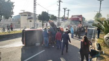 Nazilli'de Feci Kaza; 1'i Bebek 4 Kişi Yaralandı