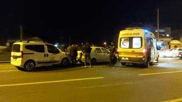 Nazilli'de Kaza; Motosiklet Sürücüsü Yaralandı
