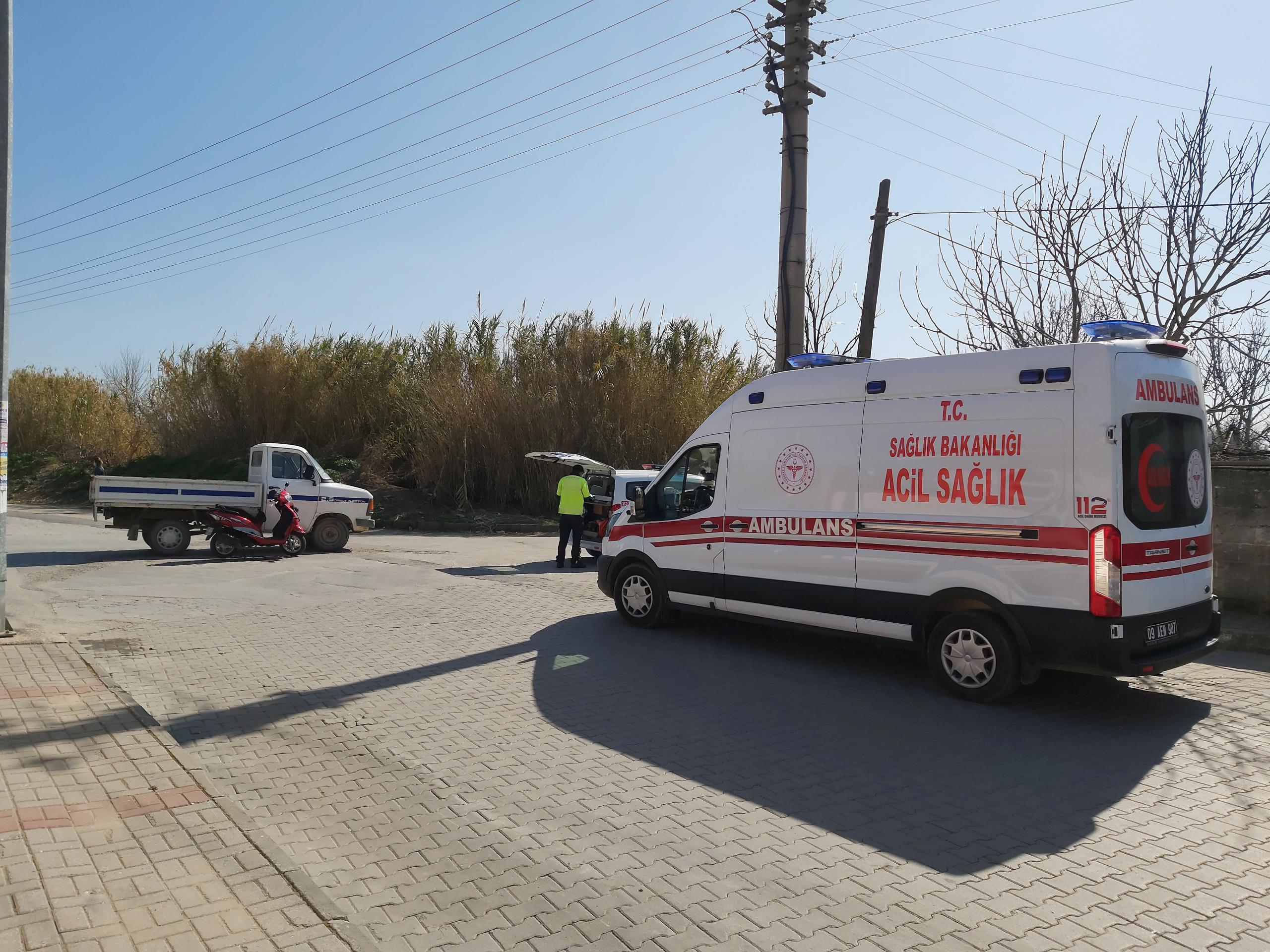 Nazilli'de Korkutan Kaza; Kadın Sürücü Yaralandı